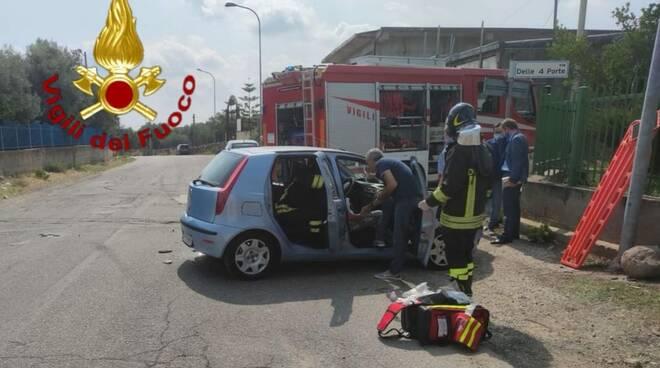 incidente,vigili del fuoco