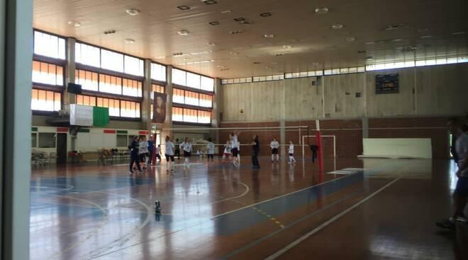 Allenamento Volley