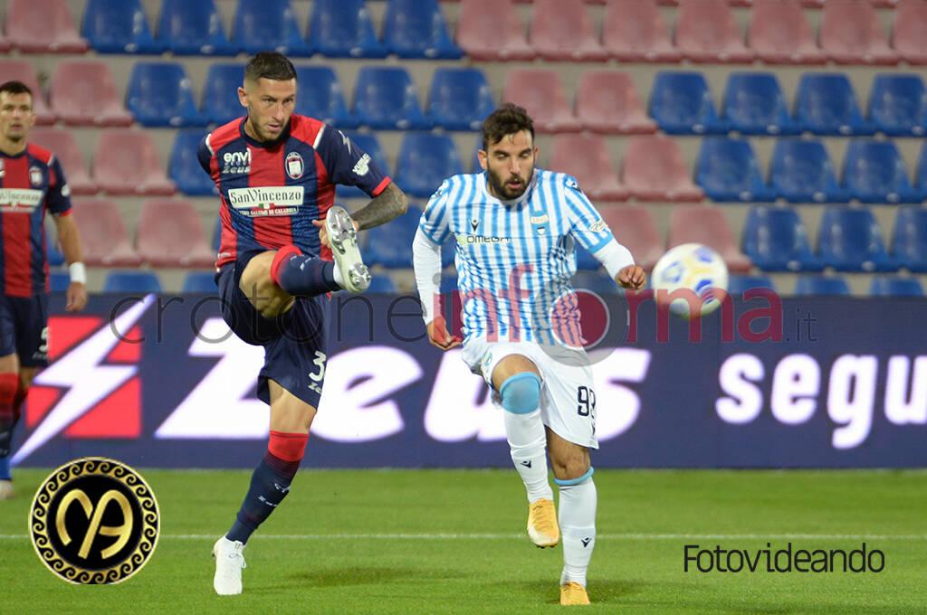 Crotone vs Spal coppa Italia