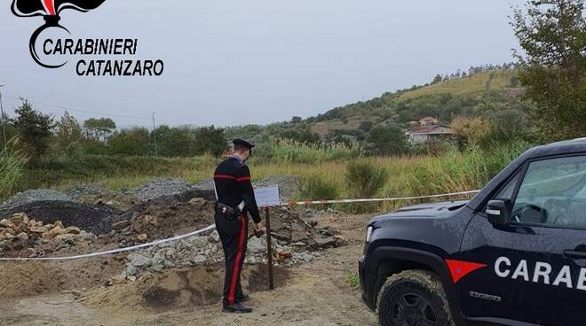 Carabinieri Borgia sequestro