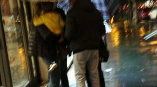 Pioggia ombrelli maltempo