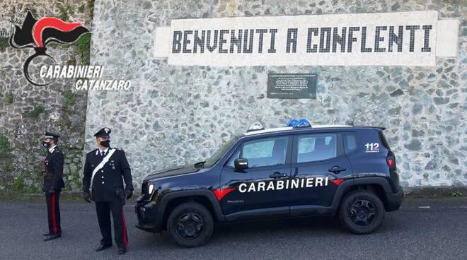carabinieri conflenti
