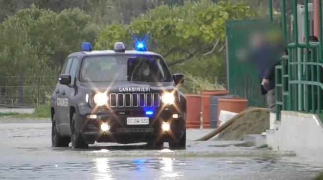 carabinieri crotone nubifragio