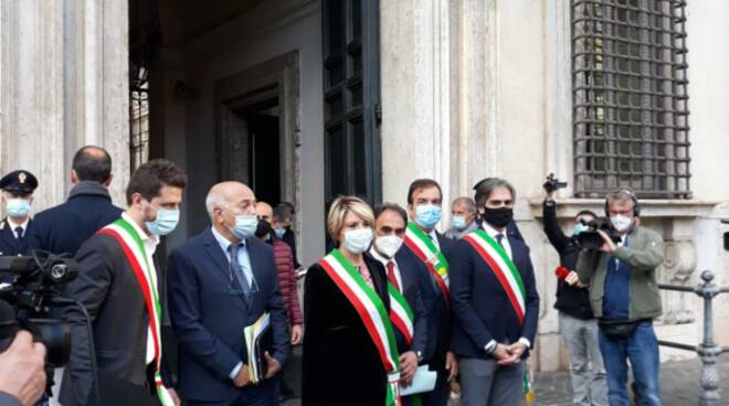 sindaci calabresi a roma