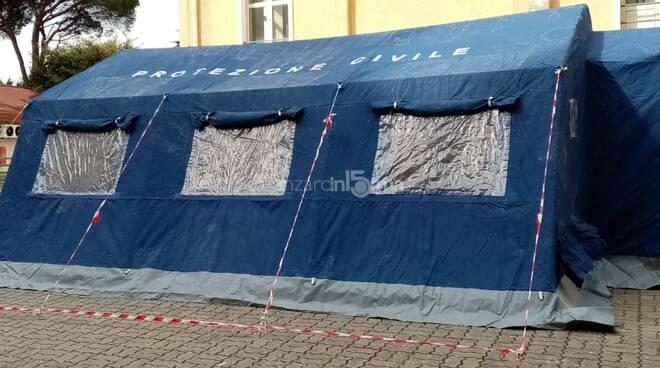 tenda pre triage