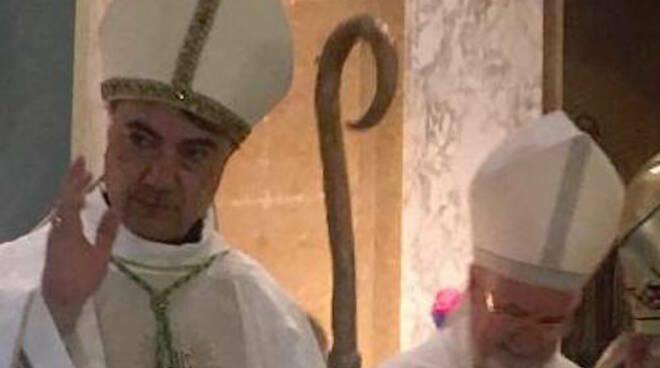 Don Mimmo Battaglia il giorno dell'ordinazione a Vescovo