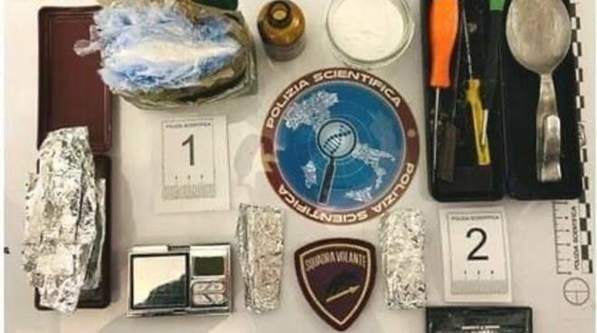 Cocaina in centro 18 febbraio