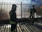 incendio rifiuti crotone