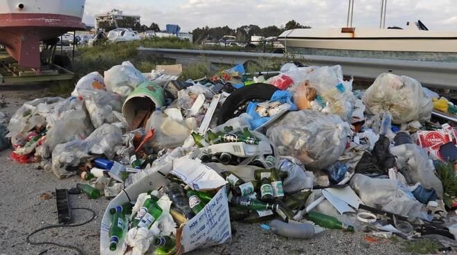 rifiuti porto