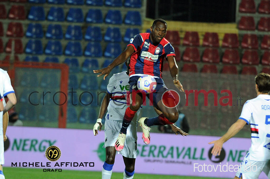 Crotone vs Sampdoria serieA calcio