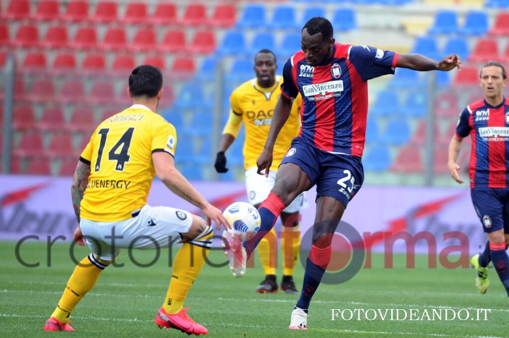 Crotone vs Udinese serieA