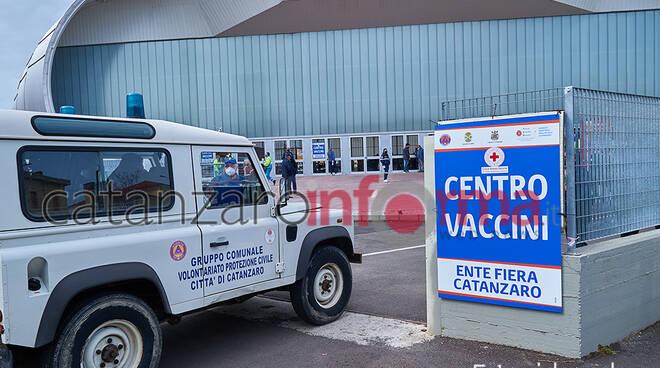 Inaugurazione HUB vaccinale Ente Fiera