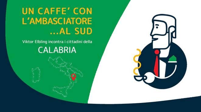 Un Caffè con l'ambasciatore al Sud
