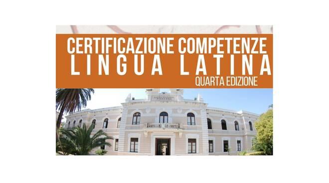 certificazione lingua latina