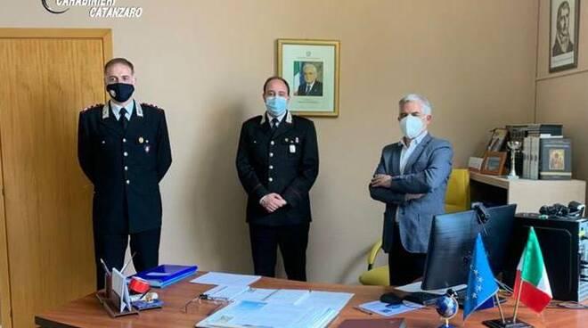 Carabinieri al Majorana