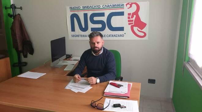Fabio Riccio, sindacato Nsc