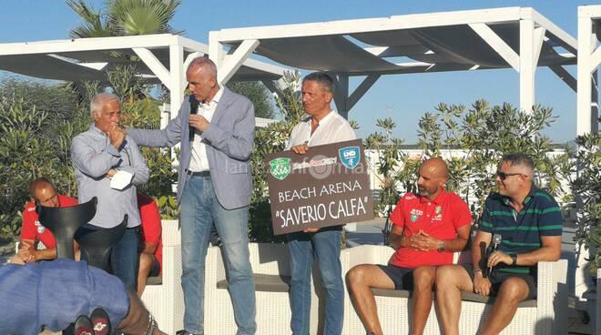 Presentazione Lamezia beach soccer