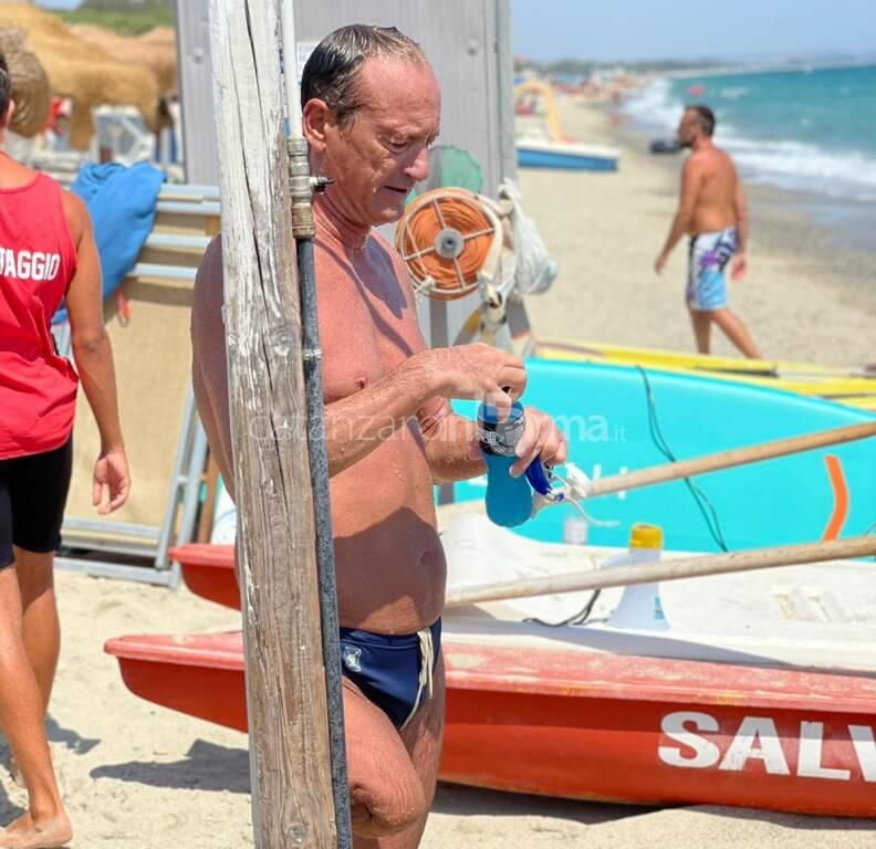 Salvatore Cimmino giro di Italia a Nuoto