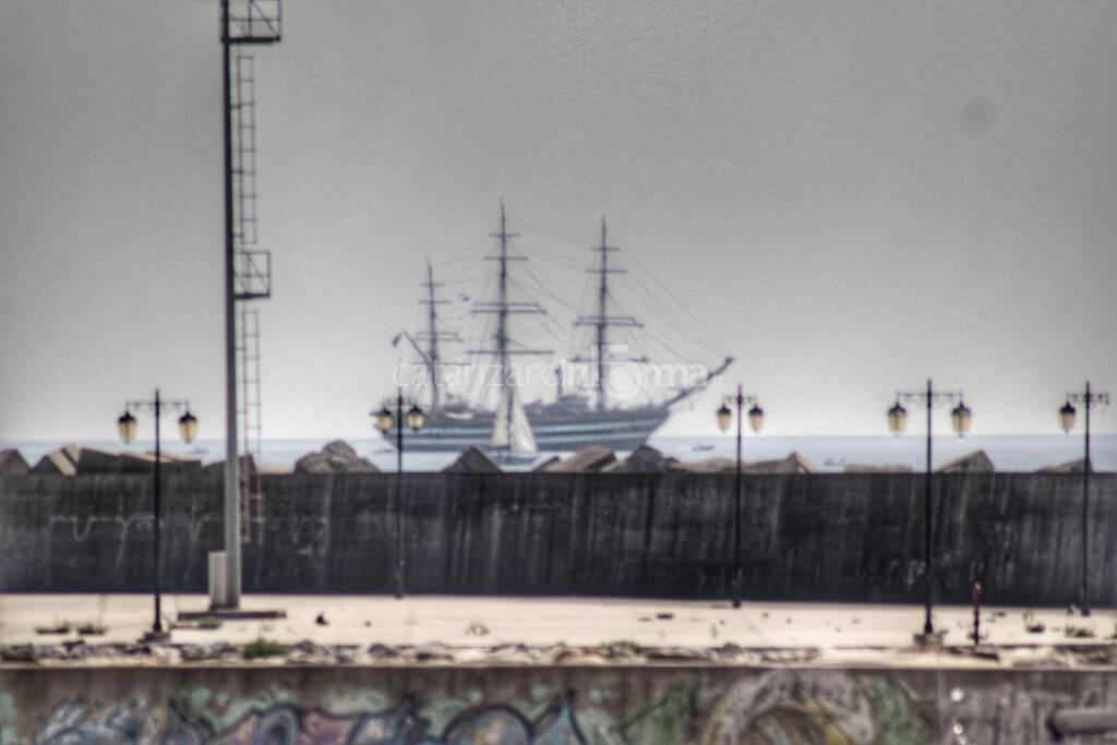 Amerigo Vespucci a Catanzaro, foto di Carmelo Panella