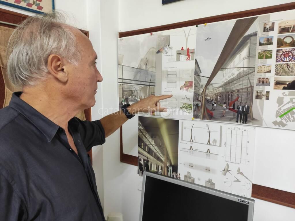 Corso Mazzini isola pedonale architetto righini Lightness road