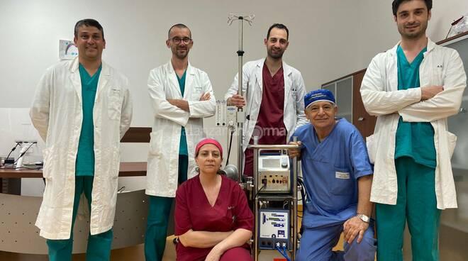 Ecmo team policlinico Mater Domini Catanzaro