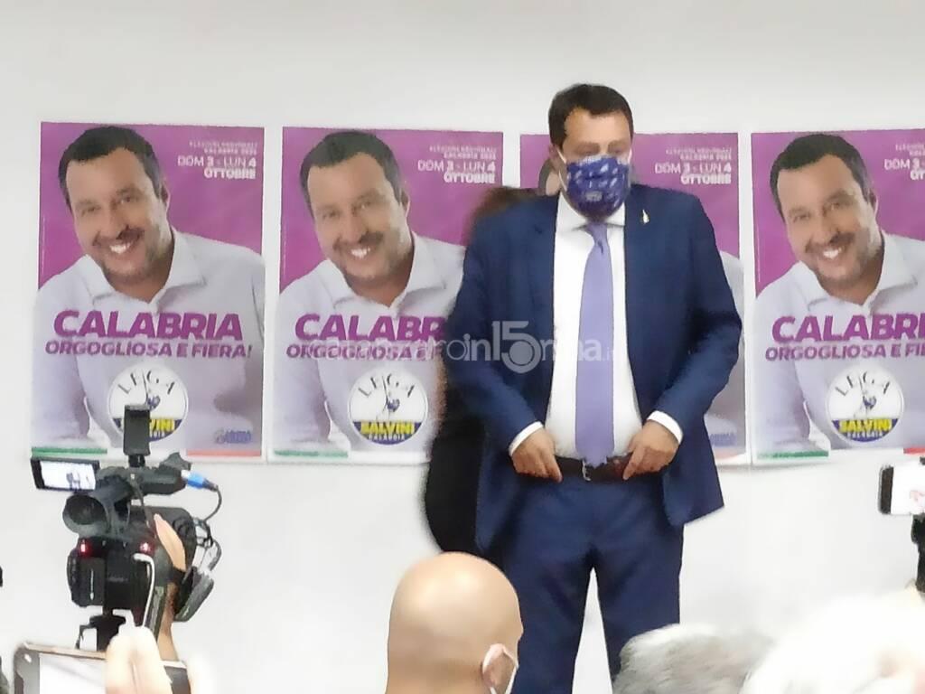 Salvini a Catanzaro