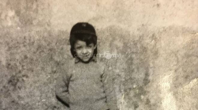 Giuseppe Vallone bambino