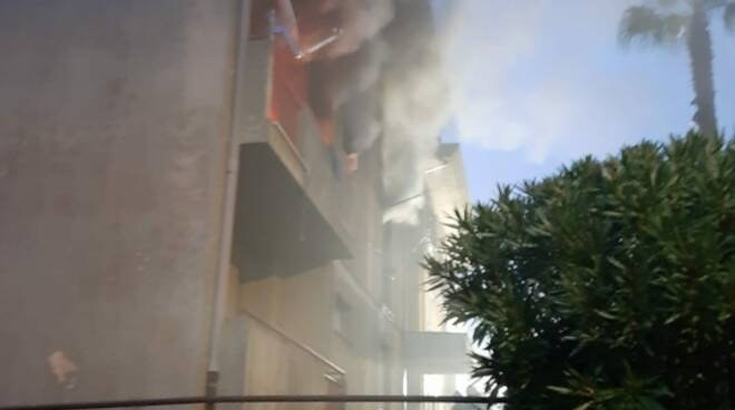 incendio a Miglierina