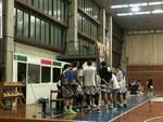 Basketball Lamezia time out
