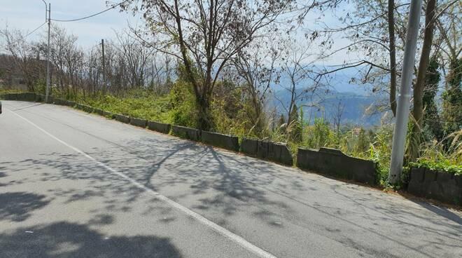 Muro viale Campanella
