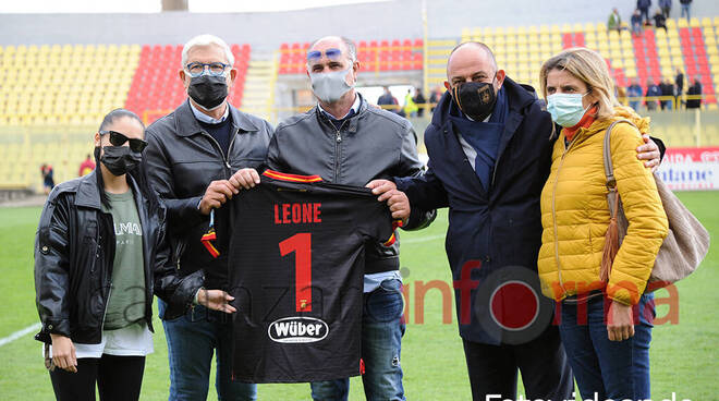 Daniel Leone, consegna della maglia