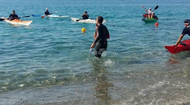 giro d'italia a nuoto salvatore cimmino